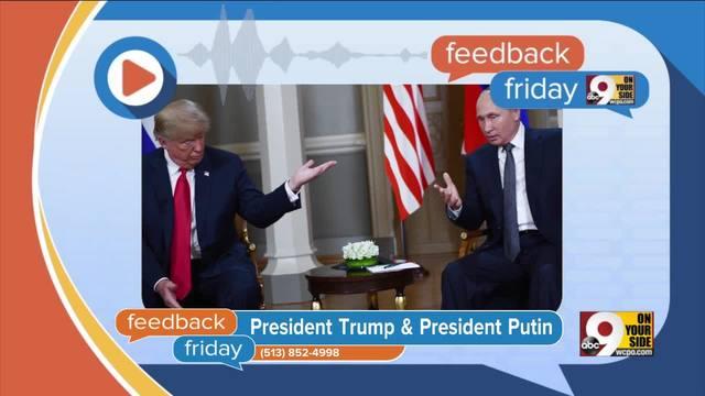 Feedback Friday- Putin on the Ritz