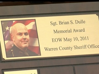 Fallen officer's legacy lives on