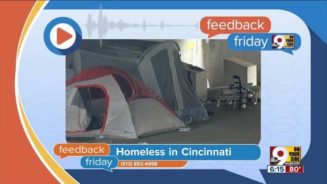 Feedback Friday- Homelessness in Cincinnati