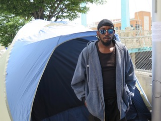 Officials to evacuate homeless camp today