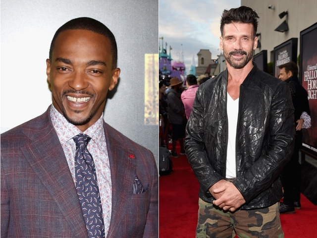 Anthony Mackie And Frank Grillo Photos Courtesy Getty Images