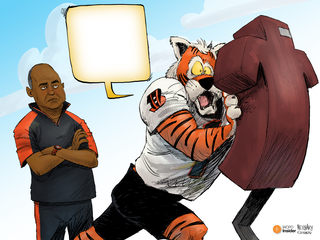 CAPTION THIS: Bengals training camp