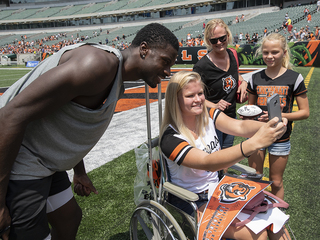PHOTOS: Bengals host Family Day at training camp