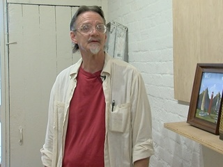 Art helps veteran create his own second chance