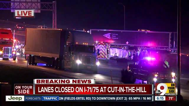 Cincinnati Car Crash Bridge