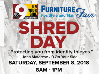 9 On Your Side's Shred Day event is Sept. 8