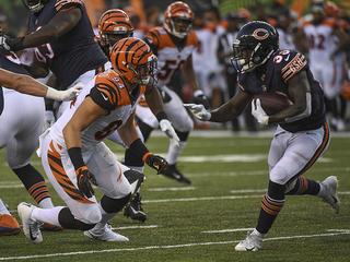 GALLERY: Rookie Sam Hubbard makes NFL debut