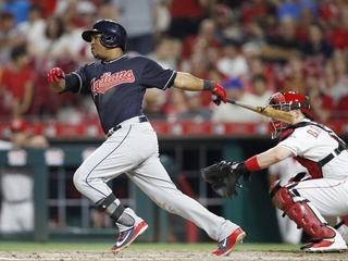 Indians pull away from Reds for 10-3 win