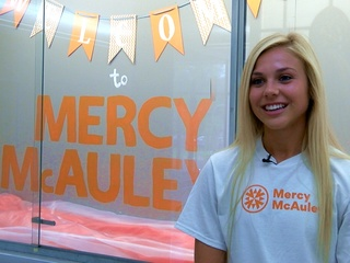 Mercy McAuley ready for first-ever day of school
