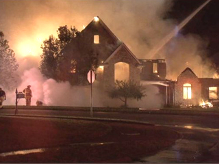 Lightning causes massive house fire in NKY