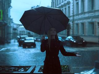 Rain develops overnight