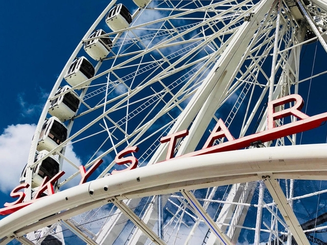 The Banks Celebrating 10th Anniversary With 150 Foot High Skystar Observation Wheel