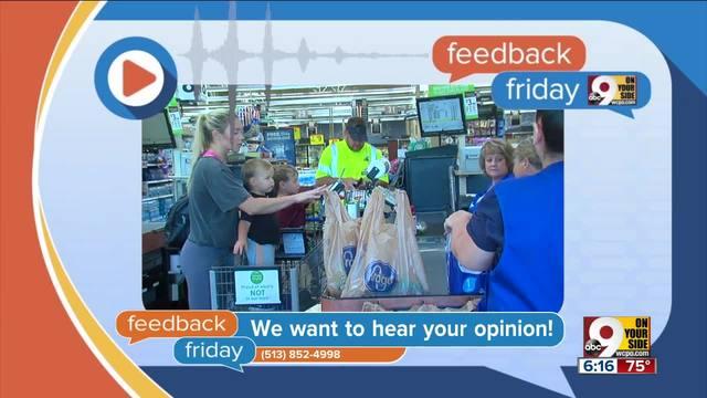 Feedback Friday- Bagging on Kroger