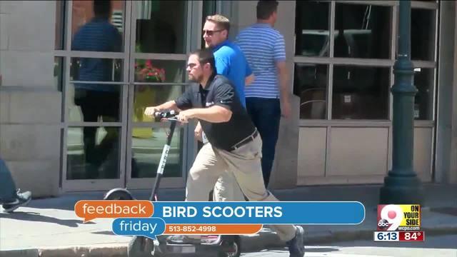 Feedback Friday- Shayna Hubers- John McCain and bird scooters
