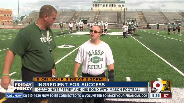 Nate Petrey- football coach with Down syndrome has special bond with…
