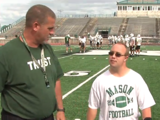 Coach with Down syndrome makes special bonds