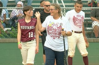 'Play ball!' How Gabby's loved ones honored her