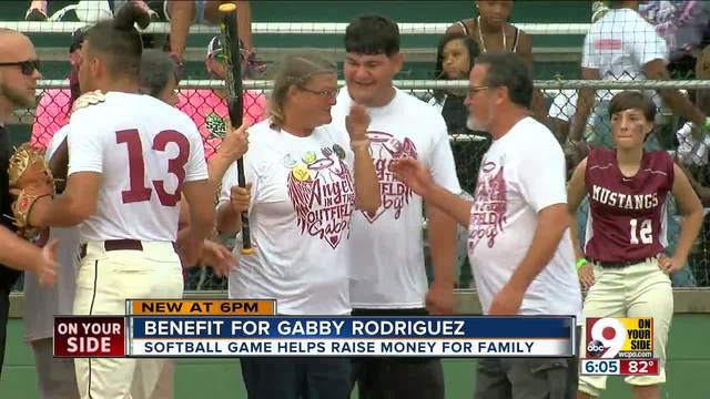 Gabby Rodriquez-s family- friends honor her with softball game