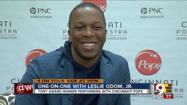 -Hamilton- star Leslie Odom Jr- grateful to perform with Cincinnati Pops…