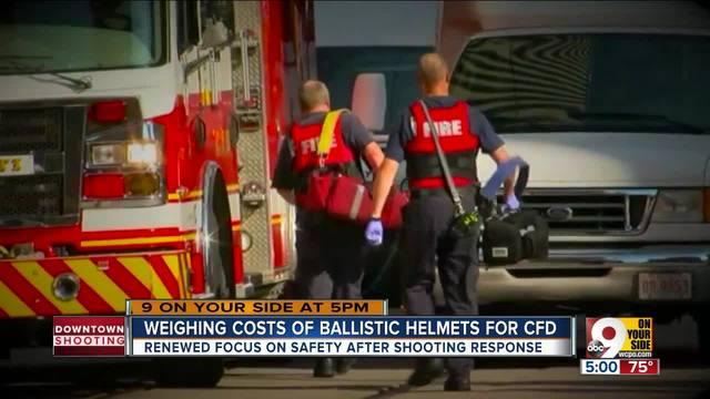 Weighing costs of ballistic helmets for CFD