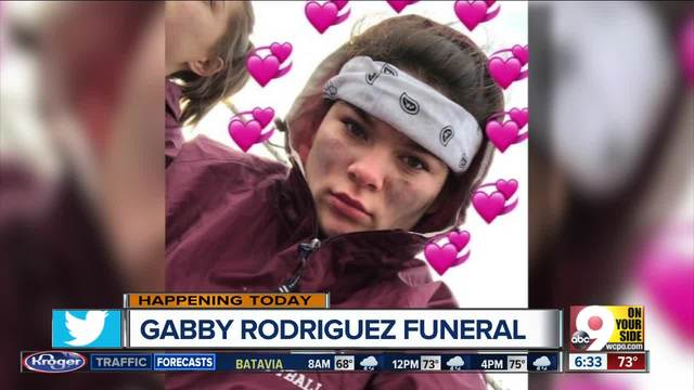 Services for Gabby Rodriguez today