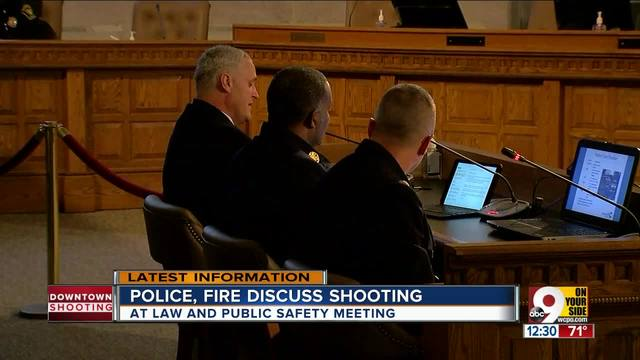 City leaders discuss Downtown shooting