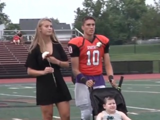 Girl with brain cancer chosen homecoming queen