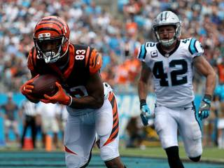 Podcast: Bengals can't keep up in Carolina