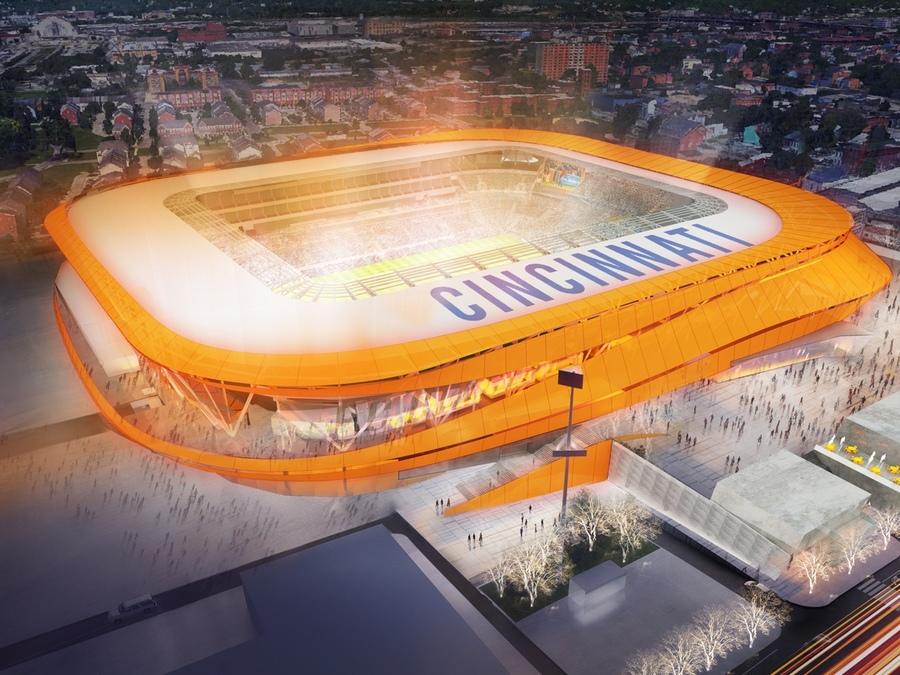 FC Cincinnati says fans benefit by adding 5,000 seats to new stadium - WCPO Cinc...