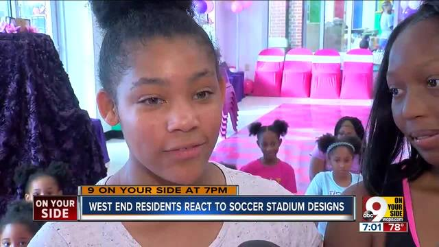 West End residents react to soccer stadium design