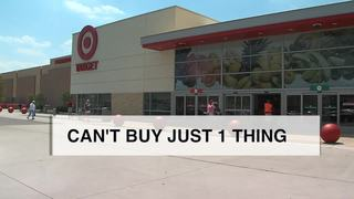 Why you can't buy just 1 or 2 things at Target