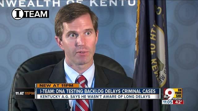 Kentucky AG- Crime lab DNA delay -unacceptable-