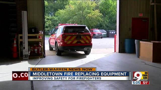 Middletown Fire replacing equipment