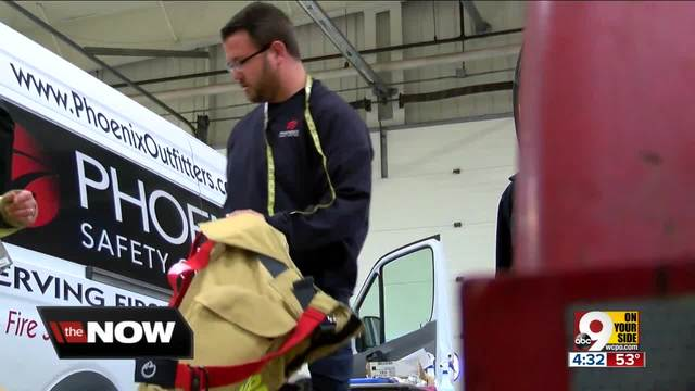 Middletown Division of Fire gets new gear for 13 firefighters