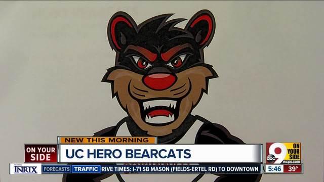 Hero Bearcat art installations will soon grace Cincinnati streets and sidewalks