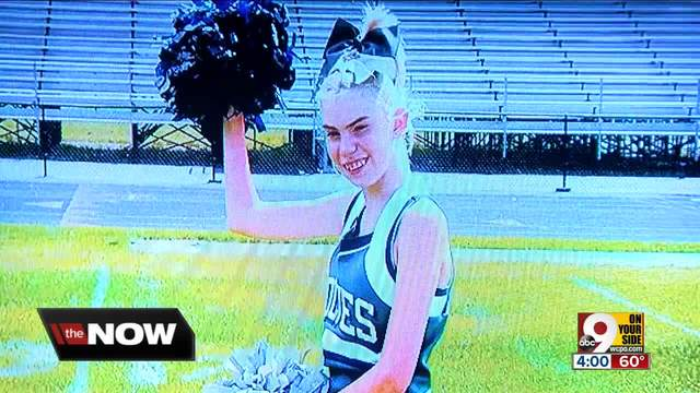 Was West Clermont 12-year-old kicked off cheerleading squad because she…