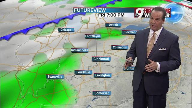Your early Thursday morning forecast