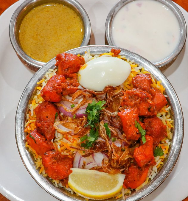Bawarchi Indian Cuisine Is Now Serving Its Signature Biryani