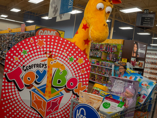 Toys R Us toys coming back...to Kroger stores