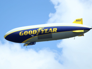 Goodyear honors blimp ride ticket after 17 years