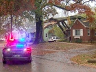 Ice storm: Trees crash into homes, power lines