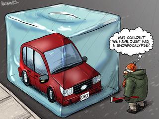 We'd rather have a snowpocalypse