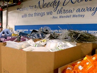 Local disaster relief org helps wildfire victims